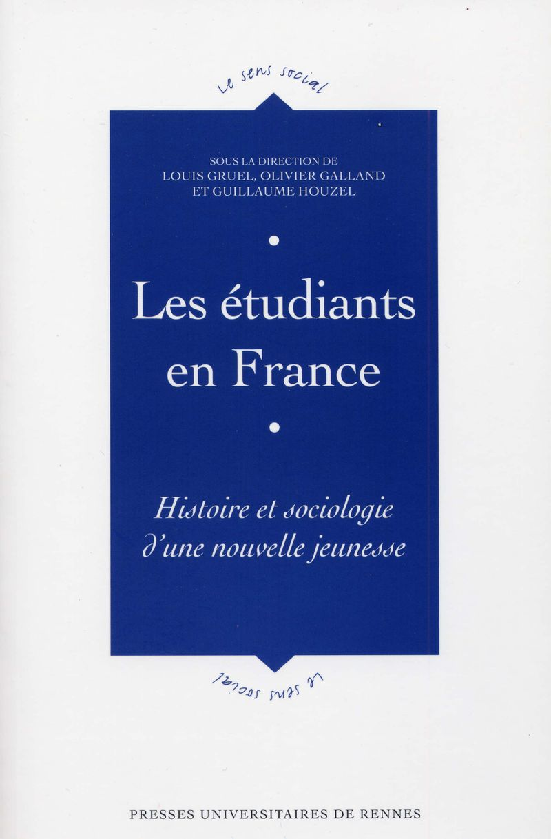 Les étudiants en France couverture