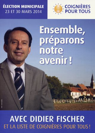 Affiche campagne Coignières2014 photo