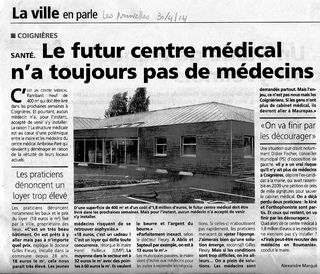 La maison médicale (Les Nouvelles 300414)