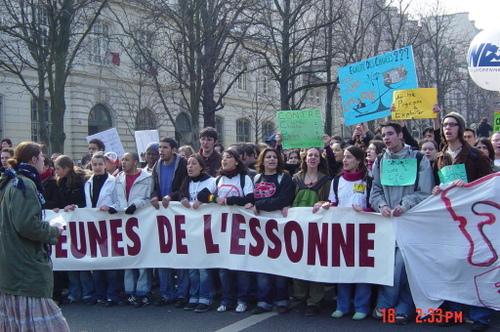 Les jeunes de l'Essonne