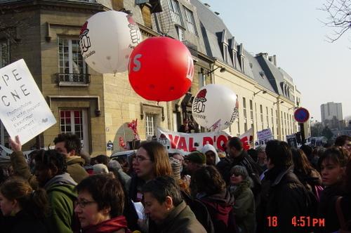 La santé : la rue des socialistes !