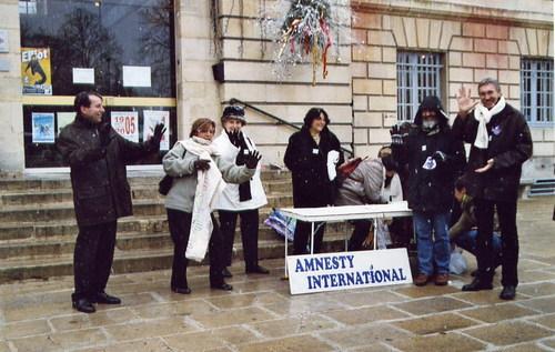 Amnesty en campagne